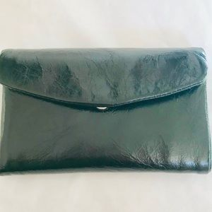 NWT🖤HOBO Compact Keychain Trifold Wallet